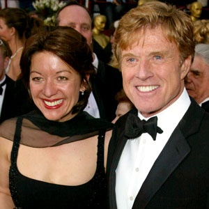 robert redford with his family | robert redford bio