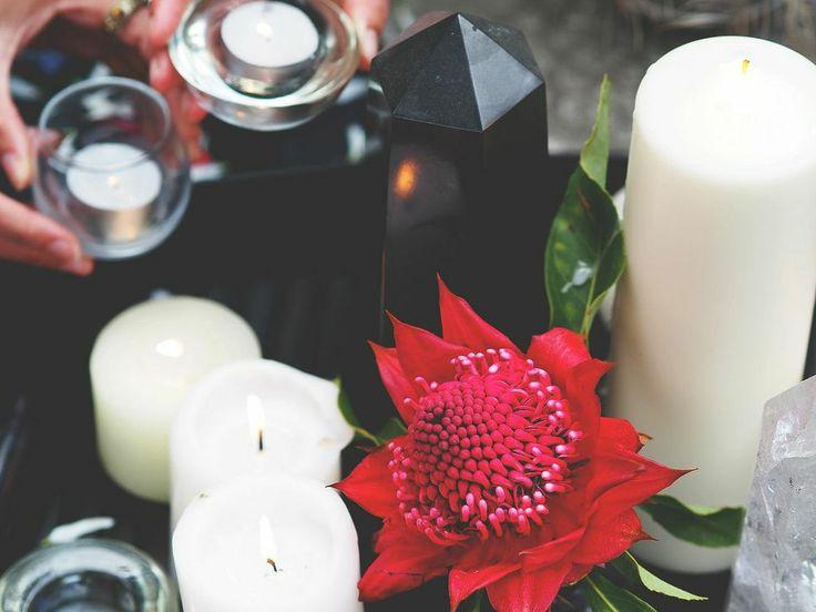 OM Cleanse sacred Altar