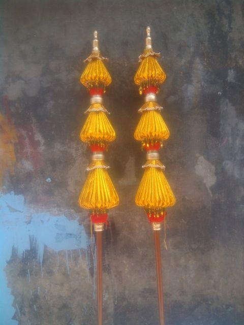 Kerajinan Payung Hias Gumantar Juwiring