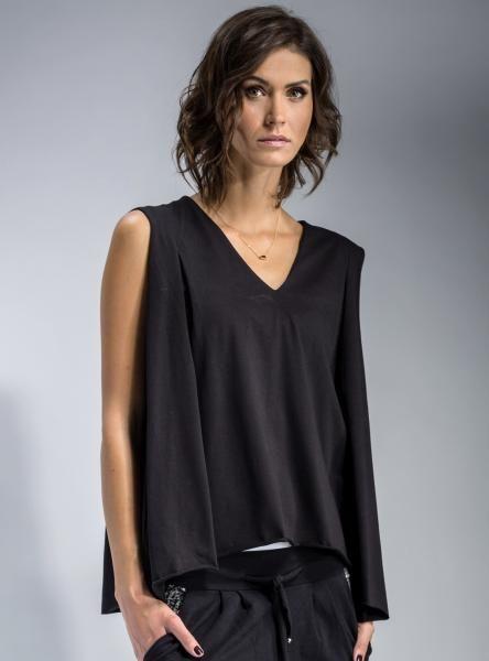 #mapepina #bluzka na każdą #okazję #blouse #black #fashionproject #fashion #modern #active #women #streetstyle #styl #ubranie #ciuchy #stylizacja #nowe #warszawa #cute #schön #bluse #blúzka #halenka #chemisier #blus