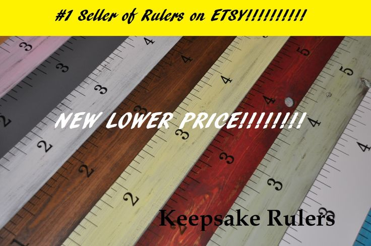 Keepsake Rulers 5000 Sold! **20+ Styles**  Life-size growth chart rulers for measuring kids' height! by KeepsakeRulers on Etsy https://www.etsy.com/listing/101816200/keepsake-rulers-5000-sold-20-styles-life