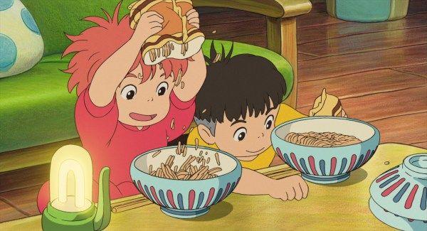 Ponyo 2008 Animation Screencaps In 2020 Ghibli Artwork Studio Ghibli Movies Ponyo