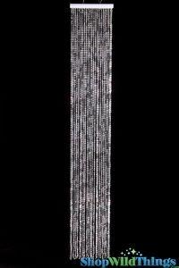 "Diamonds Curtain 12""  Wide X 6' Long (Double Density)  $14.99"