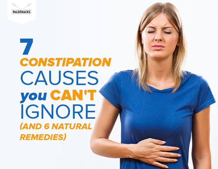 7 Constipation Causes You CAN'T Ignore (and 6 Natural Remedies)