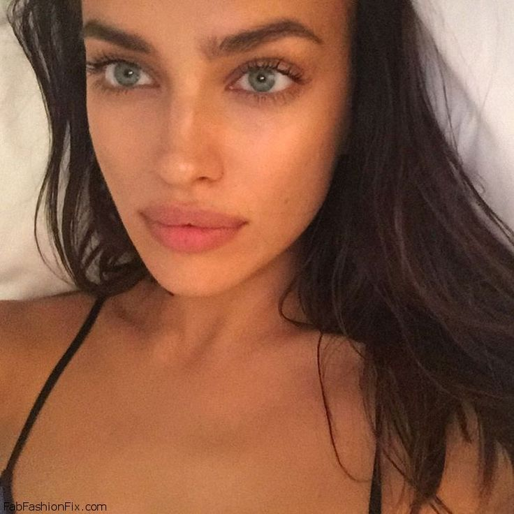 Stunning Irina Shayk with natural makeup. #lorealista #irinashayk