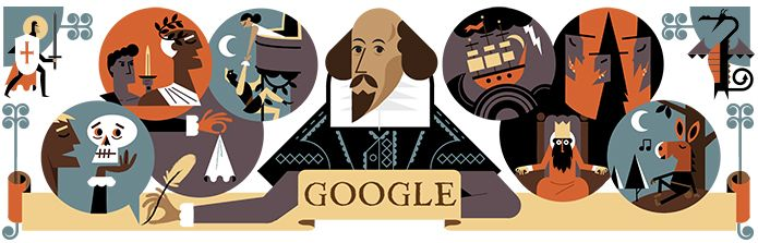 23/04/16 Celebrating William Shakespeare and St. George's Day - 400th anniv of Shakespeare's death