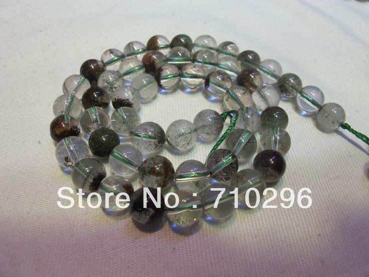 Природный Зеленый Призрак Кристалл Бусины 8 мм Полуприцепы everlast Кристалл DIY Bracelets.40 см/string