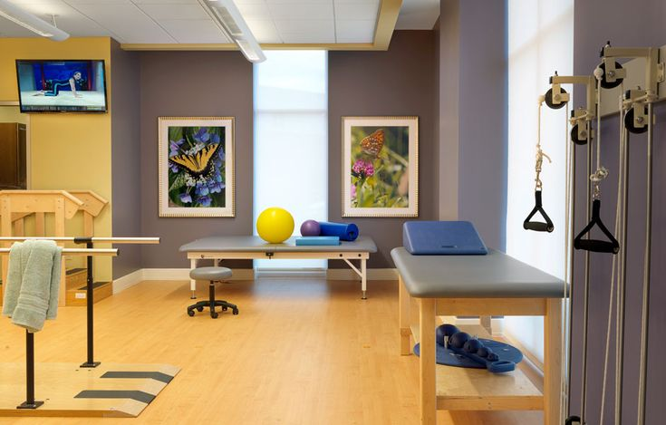 Rolling Green Village Physical Therapy Room Senior Living Interior Design Spellman Brady