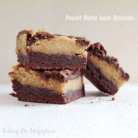 Peanut Butter Swirl Brownies from Cooking with Paula Deen ...