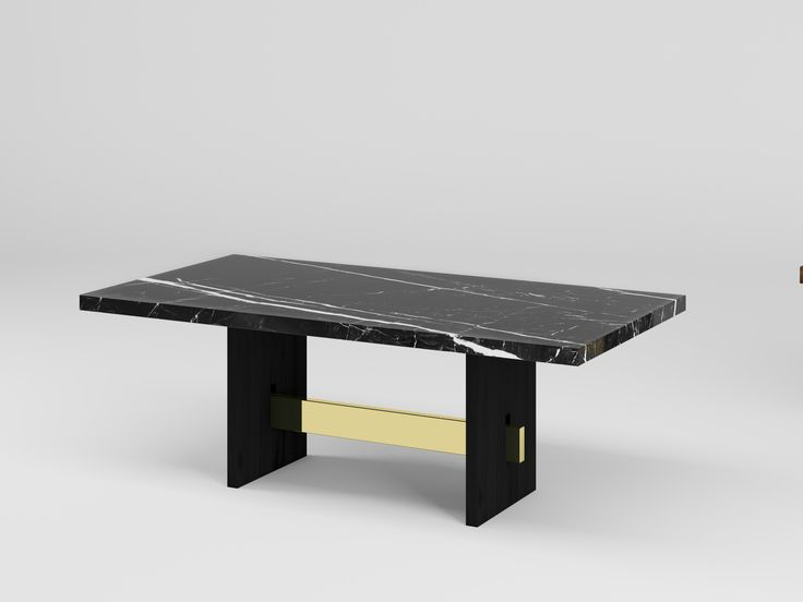 GEOMETRY MARBLE TABLE by Duistt