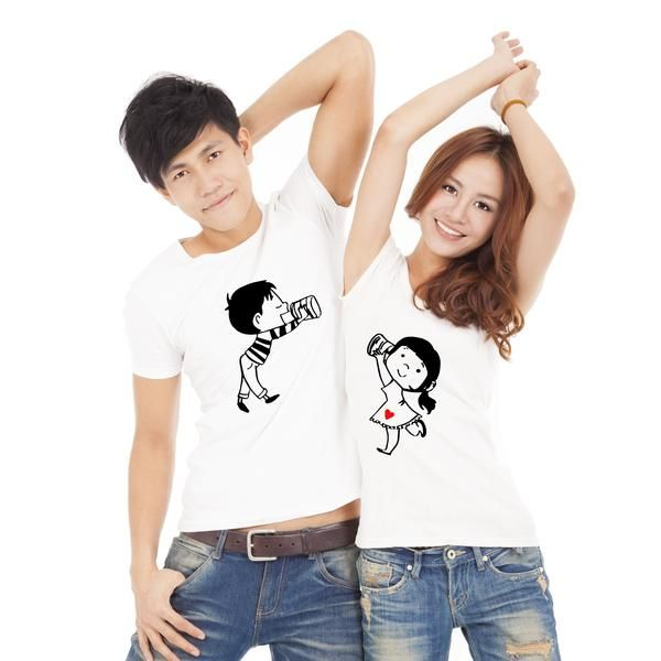 218aac98f8 Love You Too Couple T-Shirt | Couple T-Shirts by TBhai.com | Couples ...