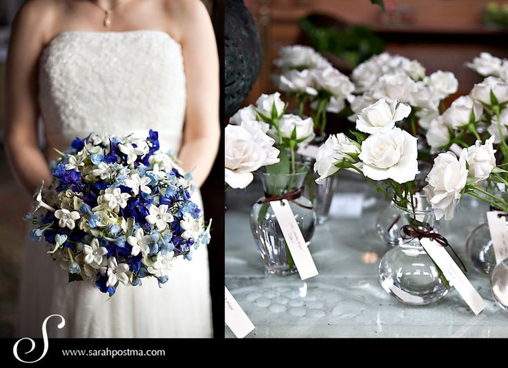 February snow showers … bring spring wedding flowers?