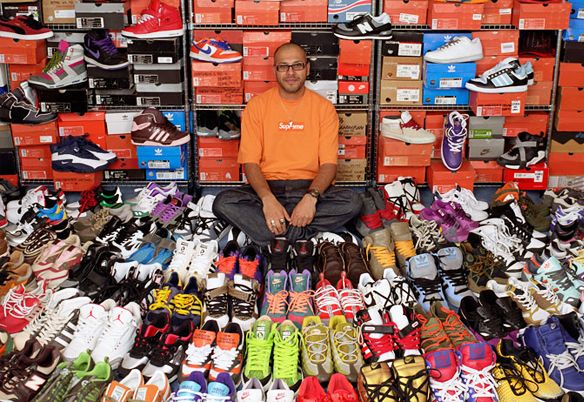 One day I will have as many #trainers as this guy