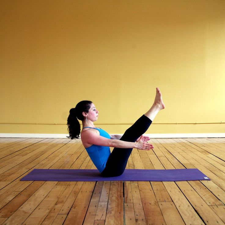 Five Yoga Poses to Fire Up Your Core