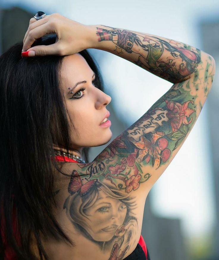 122 best female tattoos images on pinterest for Tattoo bodysuit female