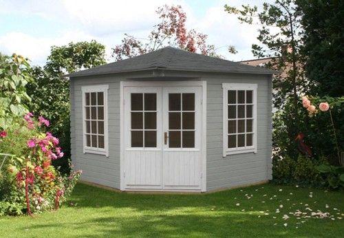 5-Eck Gartenhaus Modell Monica-40