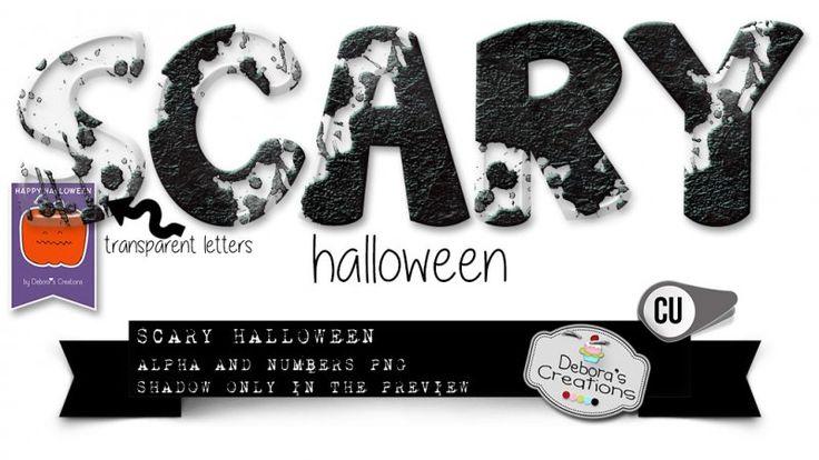 Scary Halloween by Debora's Creations (CU)