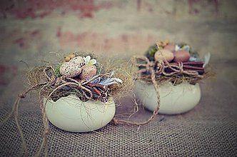 Dekorácie - Plnené veľkonočné vajíčko. - 6363704_