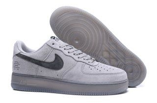 Mens Womens Nike Air Force1 x Reigning Champ Classic Gray Ash AA1117 118  Running Shoes 20a17b86b780