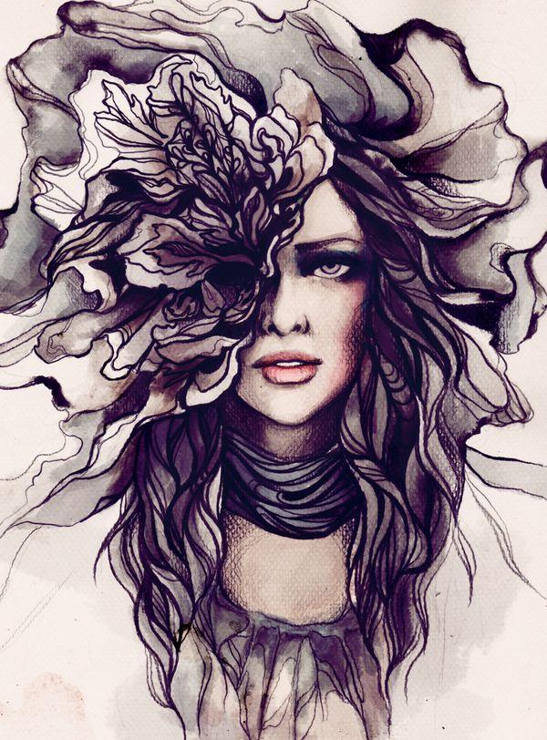 2011 Illustrations by Soleil Ignacio, via Behance
