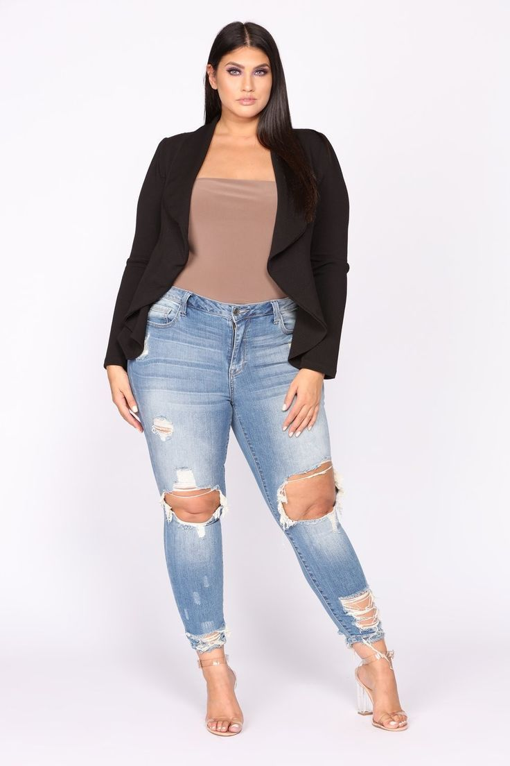 62bd7e64007 Plus Size All Inclusive Ankle Jeans - Light Blue Wash  32.99  ootd  style   fashion  chic  elegant  streetstyle  fashionable  fashionblogger  stylish   outfit ...