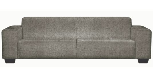 - Phantom Square  Fully Upholstered Couch (  Thuli Asphalt )