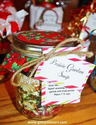 Make your own Prairie Garden Soup mix. Makes a ta…