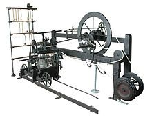 The spinning mule is a machine used to spin cotton and other fibres in the mills of Lancashire and elsewhere.