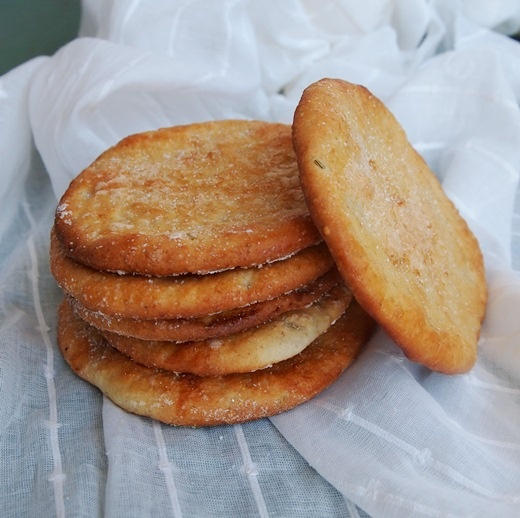 It All Tastes Greek To Me: Spanish Olive Oil Cookies ( Tortas De Aceite) @Eri Captain Cook