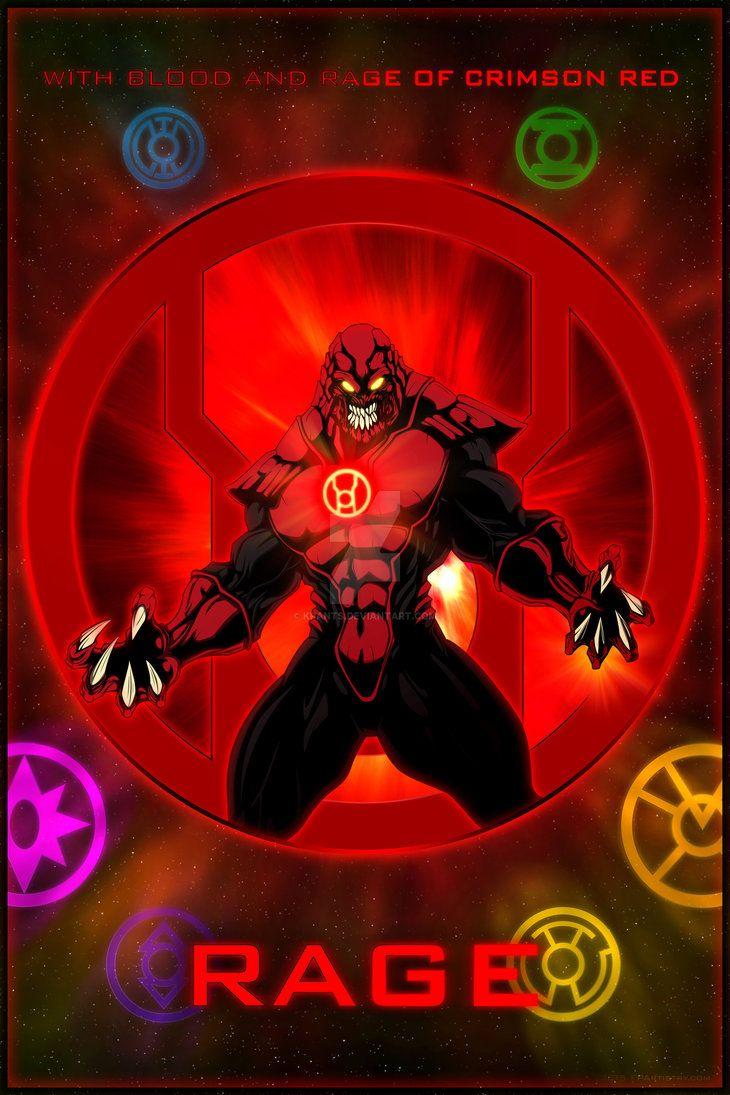 The Lantern Corps - Rage by KPants on DeviantArt