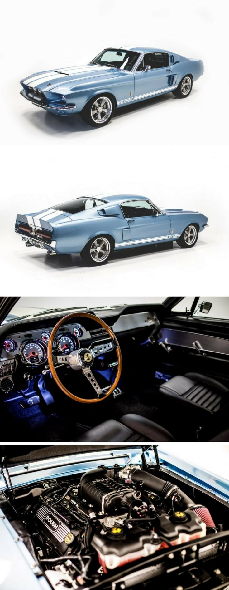 Would You Spend $219,000 on a Gorgeous Modern 600 HP Reproduction of a 1967 Shelby GT500?