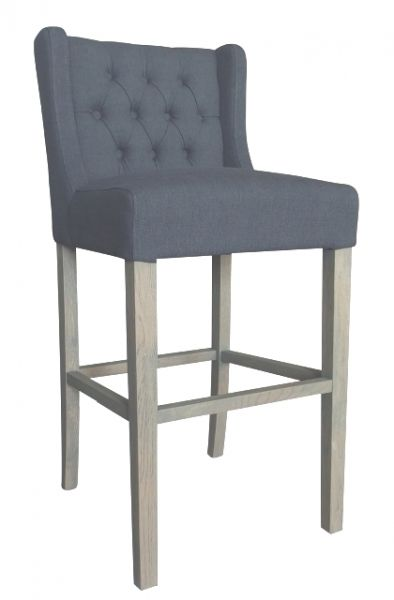 Palermo barstool Charcoal from Villa Maison #americanstyle #classic #interiors #design