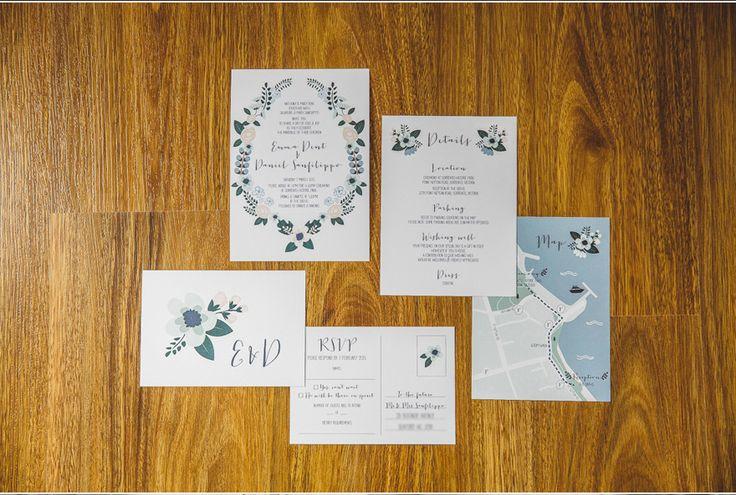 Em + Dan Wedding - Stationary