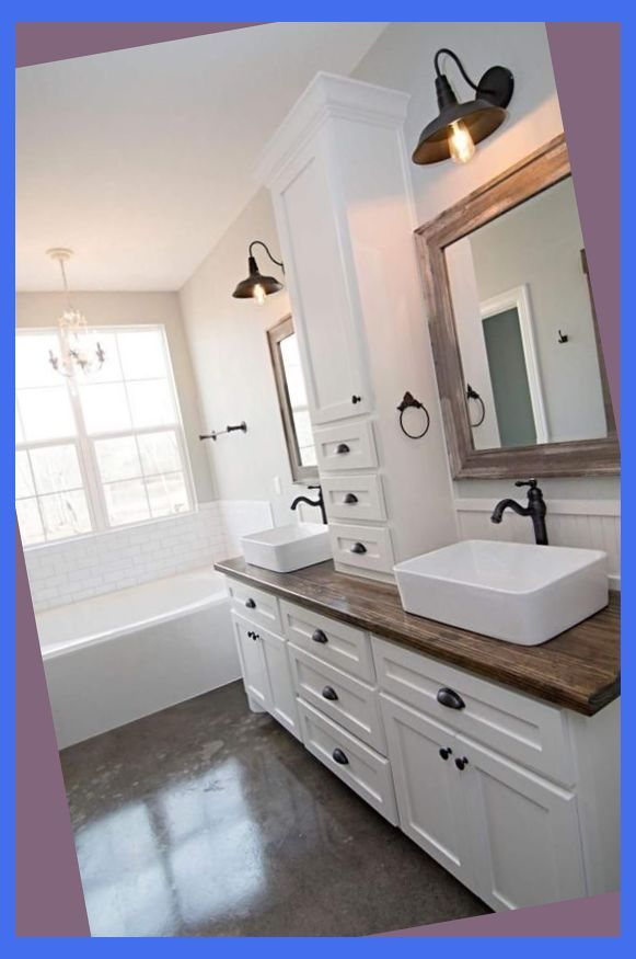 13 Creative Bathroom Sink Ideas You Should Try Modern Master Bathroom Vanities Ma Master Bathroom Vanity Simple Bathroom Remodel Handicap Bathroom Remodel