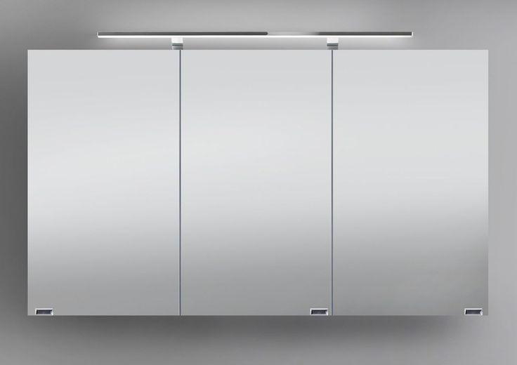Spiegelschrank 120 cm LED Beleuchtung doppelseitig verspiegelt Jetzt bestellen unter: https://moebel.ladendirekt.de/bad/badmoebel/spiegelschraenke/?uid=42e5e4b9-afd4-55eb-b109-a91ea26cf7d2&utm_source=pinterest&utm_medium=pin&utm_campaign=boards #spiegelschraenke #spiegelschränke #bad #badmoebel