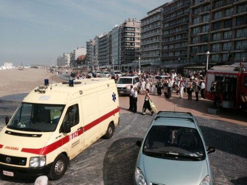 Twee lichamen aangespoeld op strand van Nieuwpoort - Het Nieuwsblad