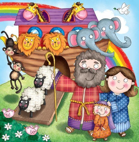 56 best images about de ark van noach on pinterest - Ilustraciones infantiles antiguas ...