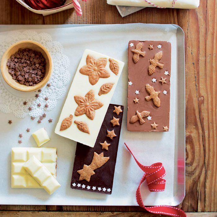 Une tablette de chocolat spéculoos