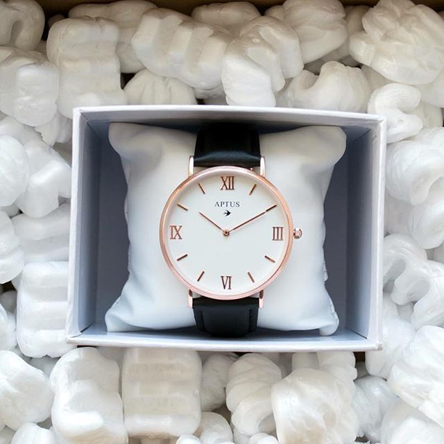 We have just sent out our first packages, don't forget that you can order your own watch on www.aptuswatches.com  Link in bio.