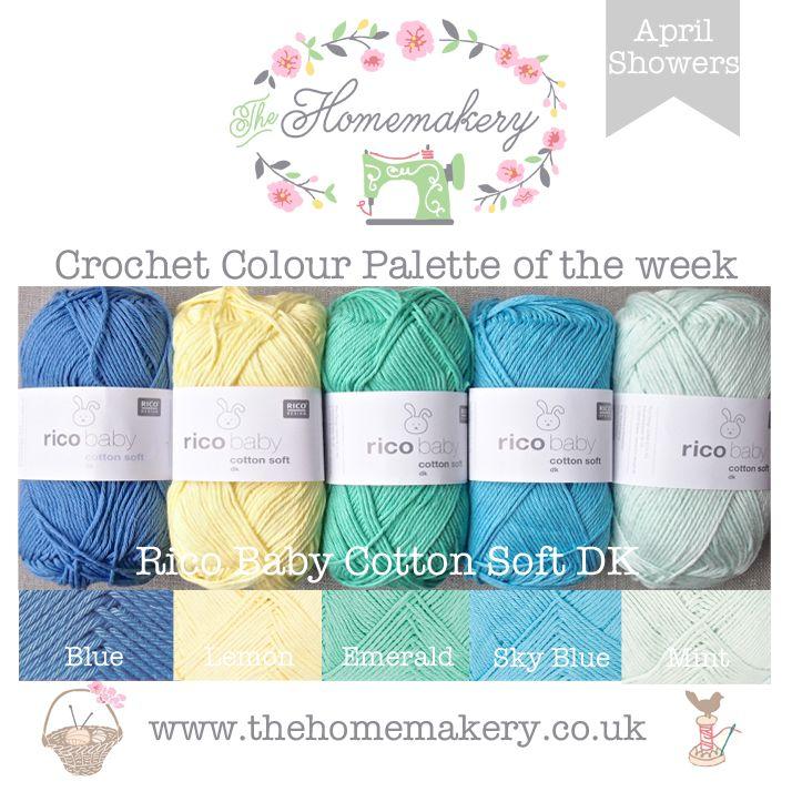 Crochet Colour Palette: April Showers
