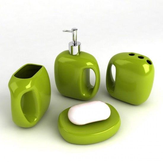Best Green Bathroom Images On Pinterest Bathroom Ideas