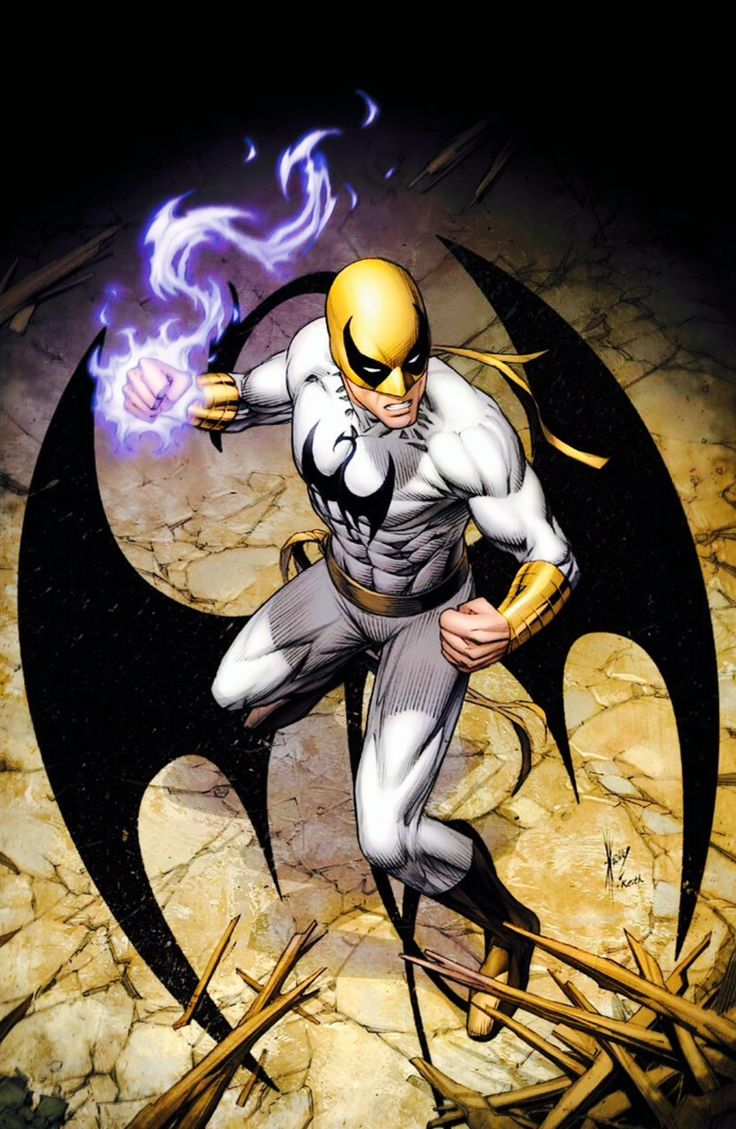 Iron Fist by Dale Keown *