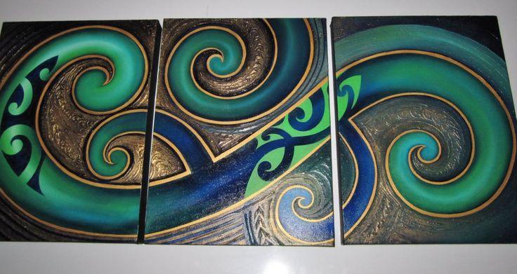 Urban Maori Art...LOVE!