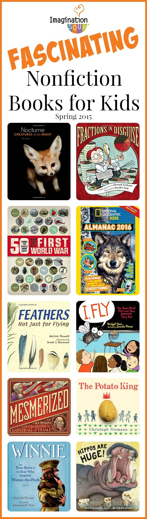 fascinating nonfiction books for kids, spring 2015