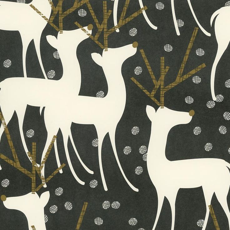 Clean lines married with sophistication and wit are the hallmark of these matte wrapping papers from Snow