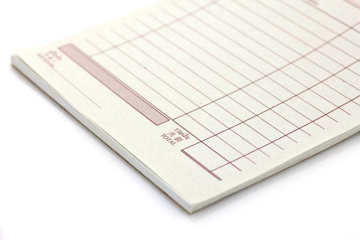 Bloczki samokopiujące na papierze samokopiującym 60g i 80g. Na papierach jednokolorowych i wielokolorowych, także nadruki wielokolorowe.