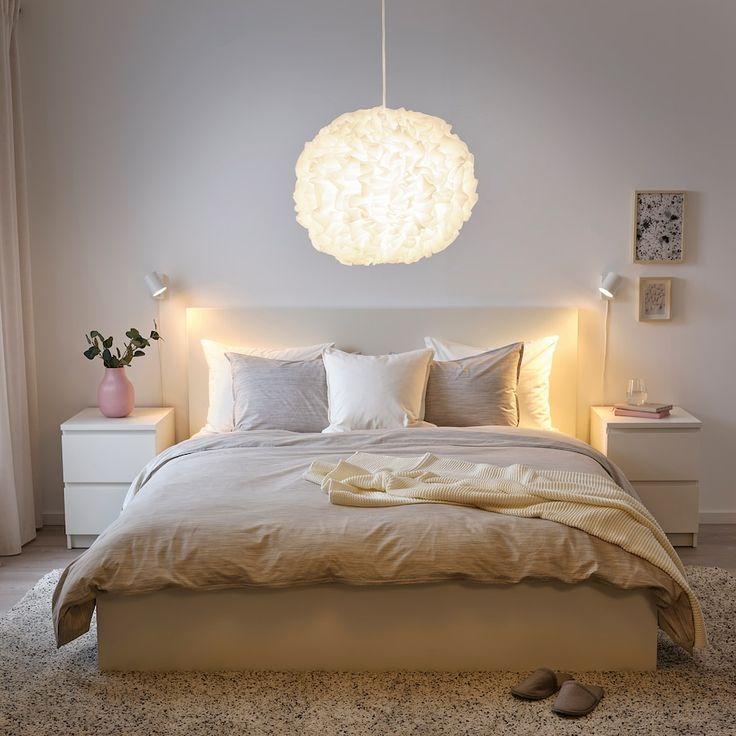 Vindkast Pendant Lamp White 20 Ikea White Pendant Lamp Room Inspiration Bedroom Pendant Lamp Bedroom lighting ideas ikea