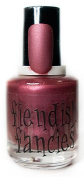 F.7-06: I Like Weird Matte Orchid Wine inspired by preoccupation with pretty parts. Opaque in 1-2 coats. : The Tainted Love Collection ~ Inspired by movies about obsession and love gone wrong. Coming February 2016
