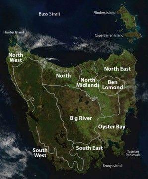 History of Tasmania and Van Dieman's Land. Tasmanian Aborigines. Australian Convicts.