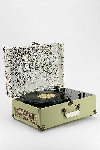 Crosley AV Room Portable USB Record Player // Urban Outfitters